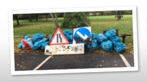 More rubbish from the litterpick day