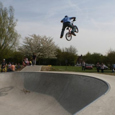 Eaton Bray Skate Park Open Day 2 - Click to open full size image