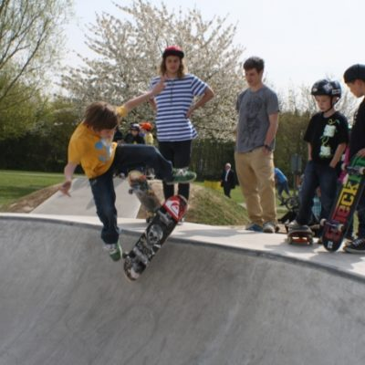 Eaton Bray Skate Park Open Day 4 - Click to open full size image