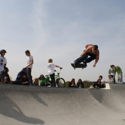 Eaton Bray Skate Park Open Day 5 - Click to open full size image