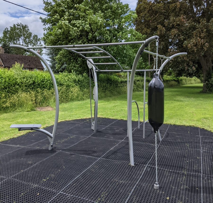 The Rye Outside Gym Rig With Monkey Bars