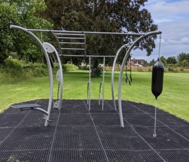 The Rye Outside Gym Rig With Punchbag