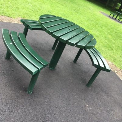 School Lane Picnic Bench Seating